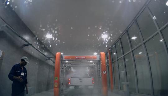 Carwash with a GoPro غسيل سيارتي مع جوبرو
